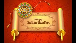 FULL SCREEN ANDROID!!! Raksha Bandhan Best Wishes 2018 | Whatsapp video Status with song