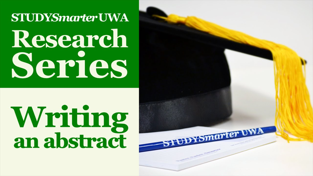 Masters Thesis Abstract Writing