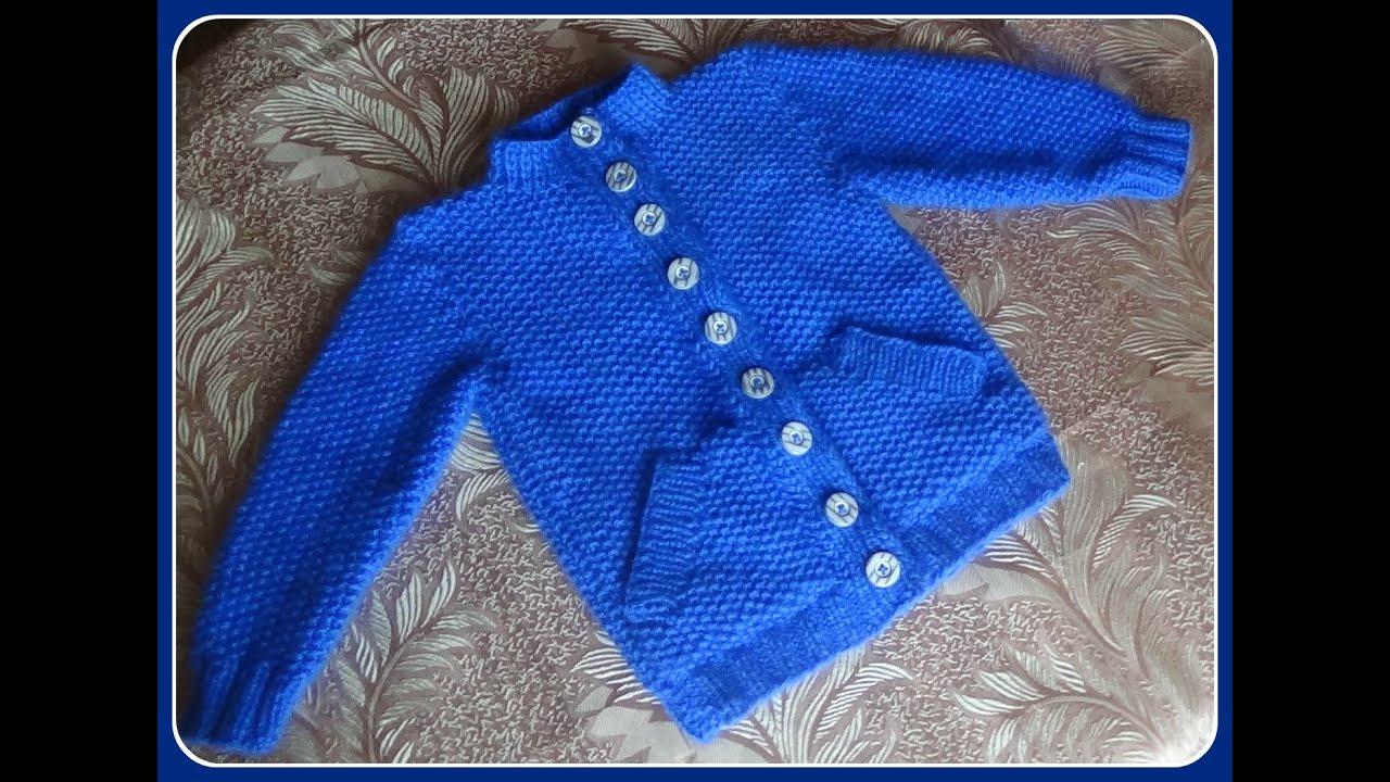 Вязание кофты для 4 лет