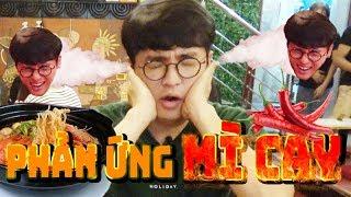 Phản ứng của người bạn Hàn Quốc khi ăn món mỳ cay nhất quán ăn ngon Hà Nội Việt Nam!! [#HàNội tập9]