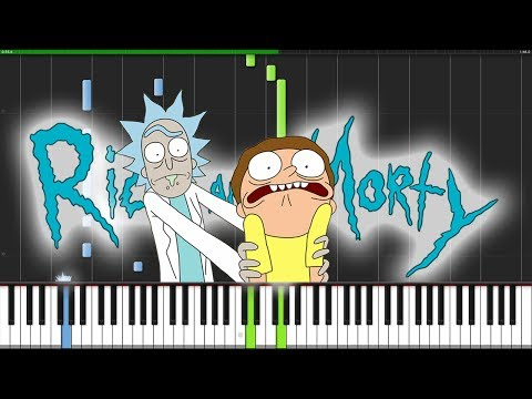 Evil Morty Theme - Rick and Morty Piano Tutorial S.mp3