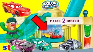 Cars Color Changers y Hulk Playset Disney Pixar