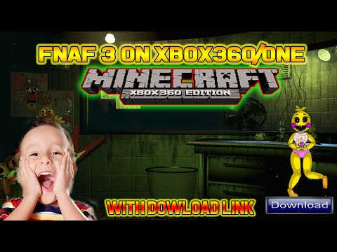 Five Nights at Freddy's 3 Minecraft Map FREE Download Link - Minecraft Xbox 360/ Xbox One / FNAF 3