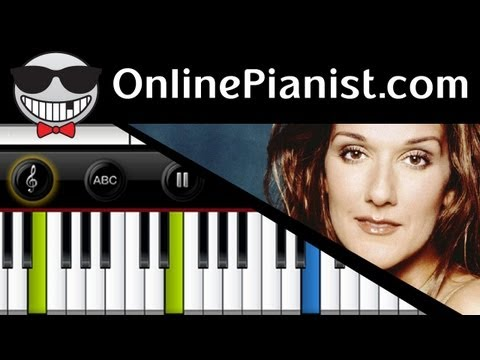 Celine Dion - My Heart Will Go On (Titanic Theme Song) - Piano...