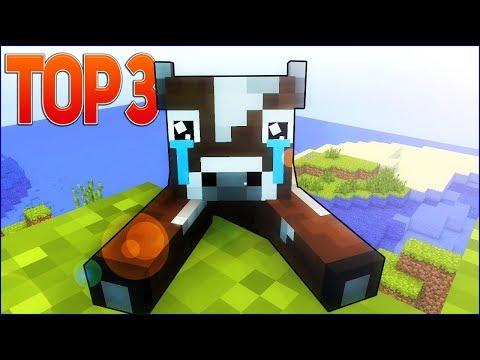 ТОП 3 ГРУСТНЫХ МАЙНКРАФТ КЛИПОВ НА РУССКОМ   Top 3 Best Sad Minecraft Song Parody Animation