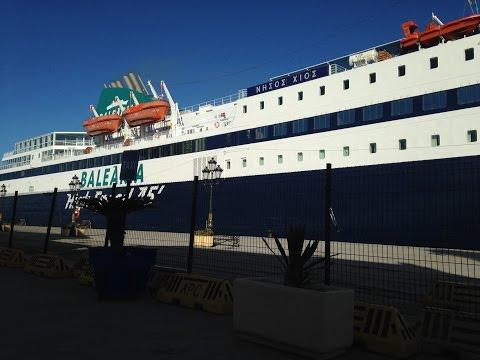 Incidente práctico y Nissos Chios - Puerto de Ceuta / Accident ships / περιστατικό