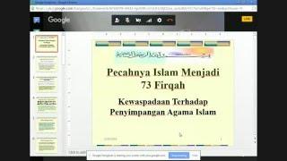 #HadistulJumat 22 Desember 2016 : Firqah Dalam Islam