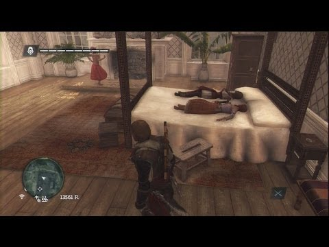 Assassin's Creed 4 Easter Egg, Two Girls One Assassin video