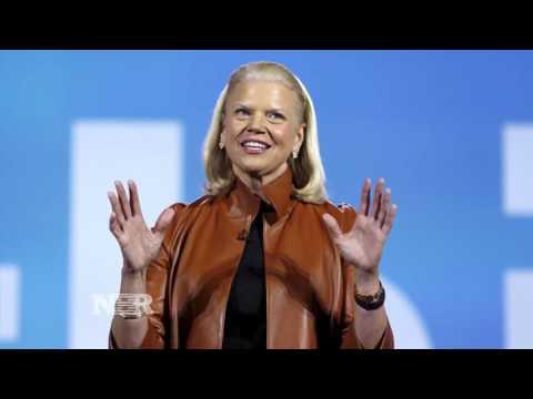 Revenue declines at IBM