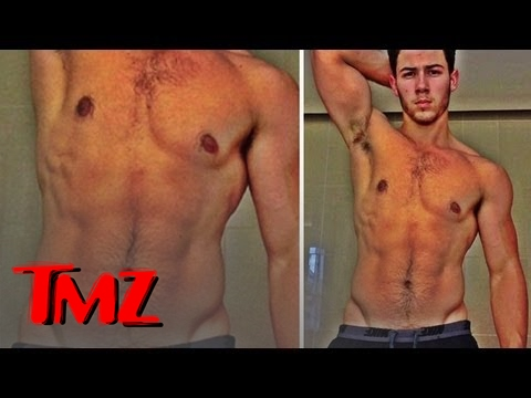 Sorry Justin Bieber, Nick Jonas Has Worlds Most Lickable Abs