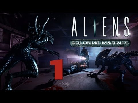 Lets Play Aliens Colonial Marines Deutsch Part 1 German Walkthrough Gameplay 1080p