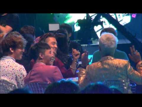 [mjgd0818]20151202 MAMA  IKONをみてるBIGBANG  (RHYTHM TA)