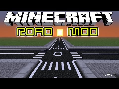 Minecraft ROAD Mod Review & How to Install