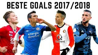 TOP 50 Goals Eredivisie 2017/2018