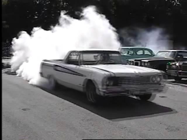 1964 Chevrolet El Camino Sleeper Wicked Burnout