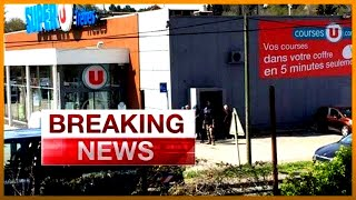 BREAKING: Police kill hostage taker in French supermarket siege | Al Jazeera English
