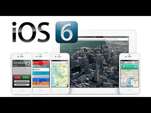 Actualizar tu IPhone.IPod y IPad hasta la Ultima Version de IOS 6! [Tutorial Completo]