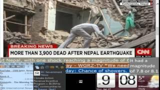 download lagu Nepal Earthquake Coverage First Hour - Cnn International - gratis
