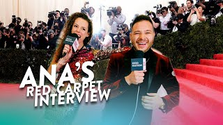 Exclusive Red Carpet Interview with Ana