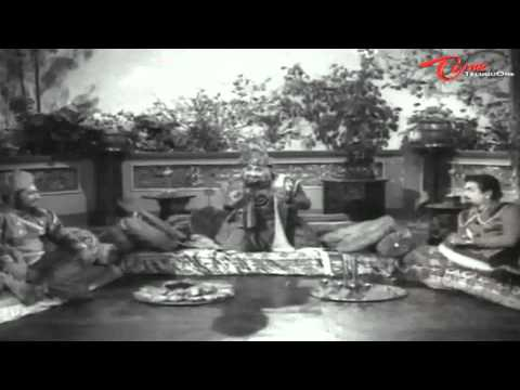 Bandipotu Songs -  O Ante Theliyani O devayya - NTR - E V Saroja...