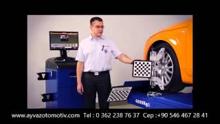 Techno Vector 6 - wheel alignment presentation - www.rotayarmakinesi.com