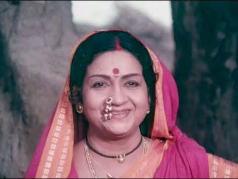 Sri Shirdi Sai Baba Mahathyam Movie Scenes - Anjali Devi giving...