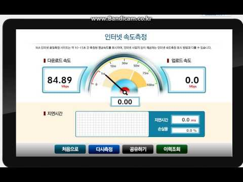 Slow Internet speeds in South Korea
