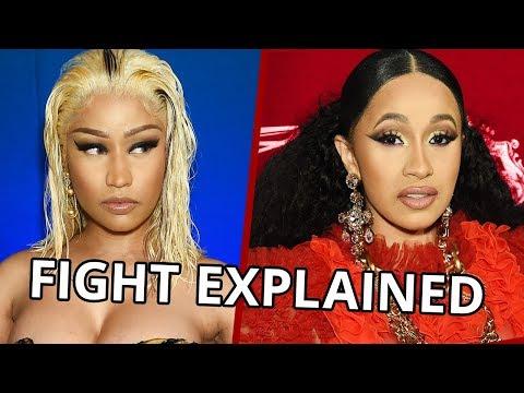 Cardi B & Nicki Minaj FIGHT Explained!