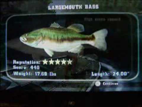 Rapala fishing frenzy monster fish youtube for Rapala fishing frenzy 2009