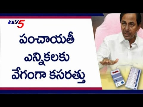 Telangana Panchayat Elections To Be Held In July Last Week | TV5 News