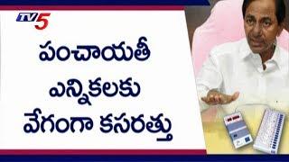 Telangana Panchayat Elections To Be Held In July Last Week