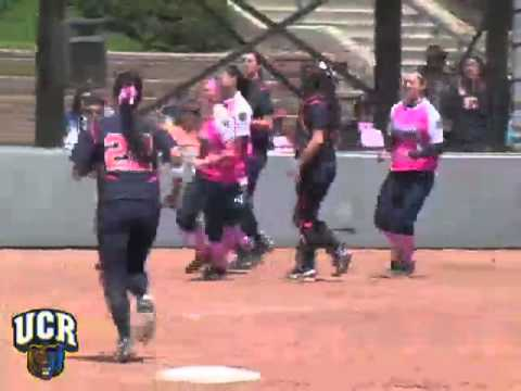 2011 UCR Softball vs. Cal State Fullerton Series.mp4