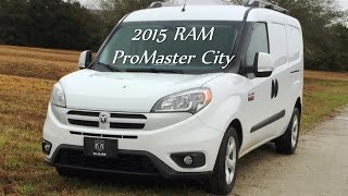 Road Test Review - 2015 RAM ProMaster City with Car-Revs-Daily.com