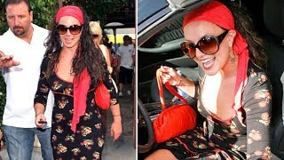 Britney Spears Looking Cute In A Red Bandana And Vintage Dress Sparking Paparazzi Chaos!!! [2007]