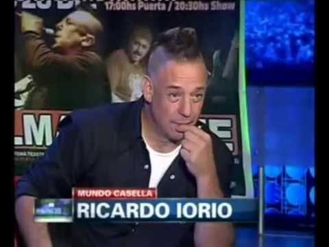 TENGO 37 AÑOS Y VIVO CON MIS PADRES LUCAS SOSA -Entrevista Ricardo Iorio 2013