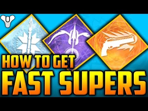 Destiny 2 - HOW TO GET - FAST SUPERS / SUPER KILLS For Faction Rallies Armor Ornaments