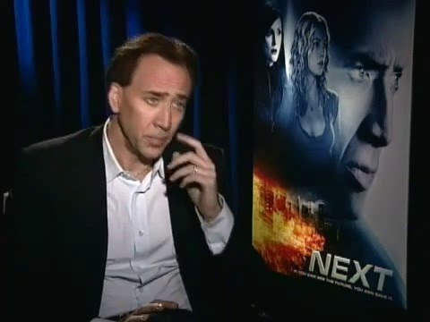 Nicolas Cage - Interview for 'Next' (2007)