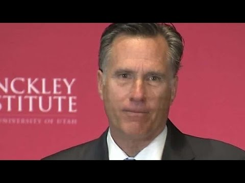 Mitt Romney gives up on independent candidate search