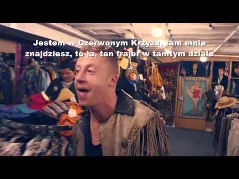 Macklemore & Ryan Lewis - Thrift Shop Feat. Wanz Tłumaczenie Pl video