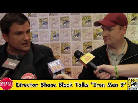 Director Shane Black Talks Iron Man 3 At Comic Con 2012