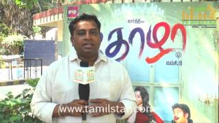Editor Praveen KL At Thozha Movie Press Meet