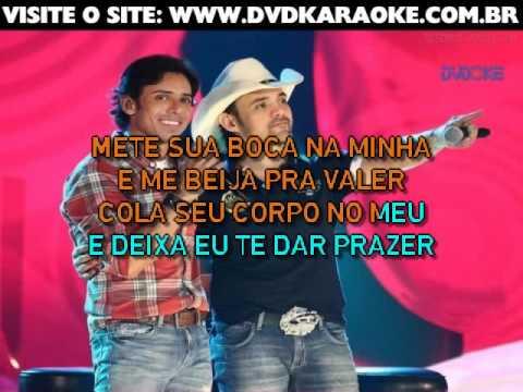 Guilherme & Santiago   Mete A Sua Boca Na Minha
