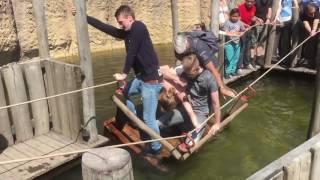 Boottocht in Wildlands Adventure Zoo Emmen gaat fout