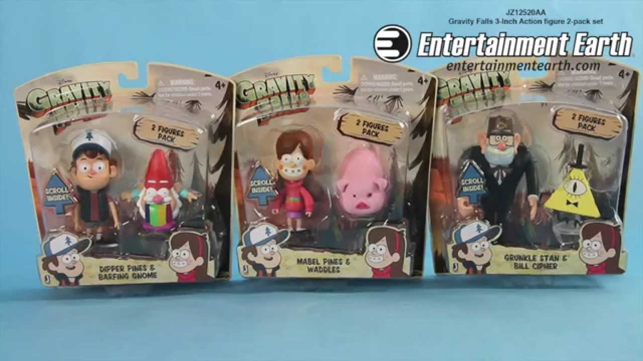 Gravity Falls Action Figures Gravity Falls 3-inch Action