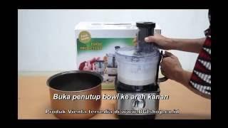 Vienta - Cara Memindahkan Adonan Yang Benar di Vienta Food Processor