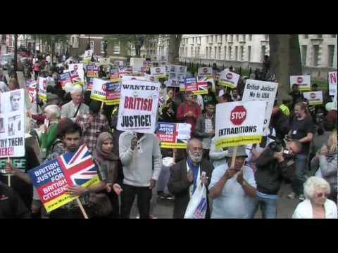 British Justice for British Citizens, Demonstration 23rd June 2012