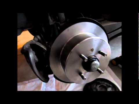 2000 Deawoo Nubira Rear Brake Job