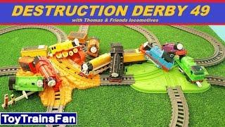 Trackmaster Destruction Derby #49  - Thomas & Friends accidents. Tomek i Przyjaciele zderzenia