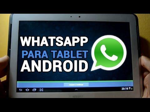 Cómo instalar WhatsApp en cualquier tablet Android ¡FÁCIL!