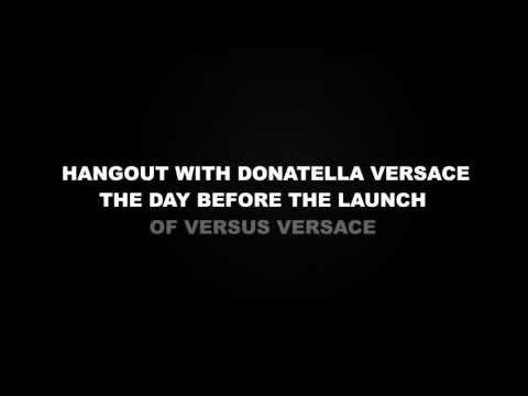 HANGOUT with Donatella Versace on May 14
